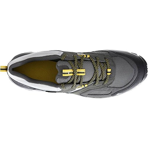 5cec85b8453 Quechua MH 100 Watetproof Men s Hiking Shoes - Grey Yellow  Buy Online at  Low Prices in India - Amazon.in