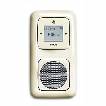 Bevorzugt Komplett-Set BUSCH-JAEGER, Digitalradio, Lautsprecher -cremeweiß UG72