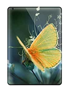 linJUN FENGHot New Nice Yellow Butterfly Case Cover For Ipad Air With Perfect Design