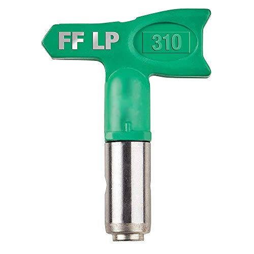 Sr. Denoff FFLP310 Fine Finish Low Pressure Reversible Tip for Airless Paint Spray Guns. (Best Affordable Paint Sprayer)