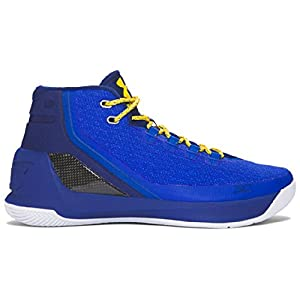 Under Armour Men's Curry 3 Basketball Shoe Team Royal/Caspian/Taxi Size 11.5 M US