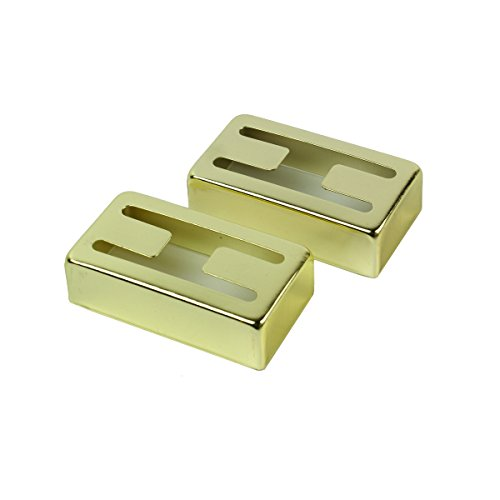 H hole Humbucker covers for Gretsch Filtertron style pickup ,Gold plated ,1 pair