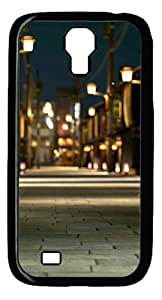 Samsung Galaxy S4 Case and Cover - Country Lanes PC case Cover for Samsung Galaxy S4 SIV I9500-Black