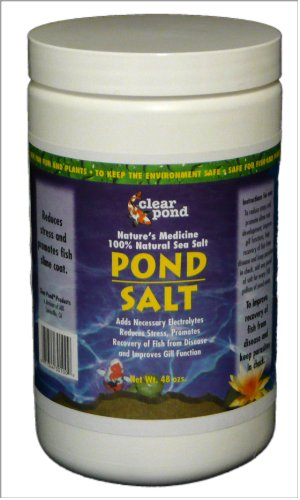 Pond Salt - Clear Pond Pond Salt , 3-Pound Jar