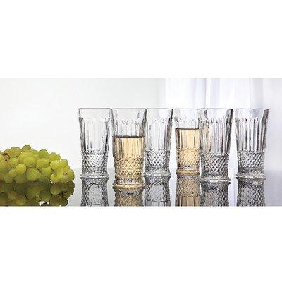 Medea 10 Oz. Highball Glass (Set of 6) by Studio Silversmith