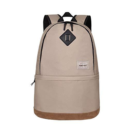 HEXIN 35L Casual Rucksuck Daypack Computer Bag Hiking Bag Bookbag for Teens Boys Girls
