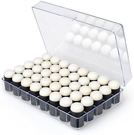 Switty 40 - Pack de 40 rotuladores de esponja para manualidades con estuche de almacenamiento para hacer tarjetas, pintar y dibujar tizos: Amazon.es: Hogar