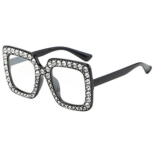 d5fbd357b57d Sumen Women Men Fashion Artificial Diamond Frame Sunglasses Summer Hot Sale  Sunglasses (E) - Buy Online in Oman.