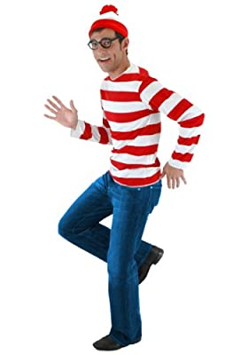 elope Where's Waldo Adult Costume Kit