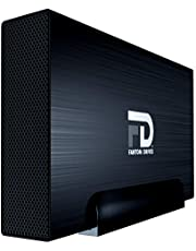 $120 » Fantom Drives Gforce3 Pro 4TB 7200 RPM USB 3.0 Aluminum External Hard Drive - Great for Mac, Windows, PS4, and Xbox (GF3B4000UP)