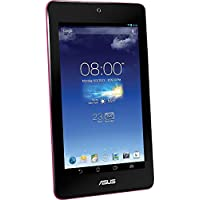 ASUS MeMO Pad HD 7-Inch Touchscreen Tablet with Quad-Core Intel Celeron Processor (1.20GHz), 1GB DDR3 RAM, 16GB Memory and Android OS, Pink, ME173XA1 (Certified Refurbished)