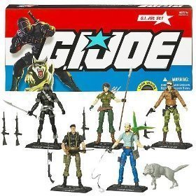 G.I. Joe Collector 5 Pack with Snake