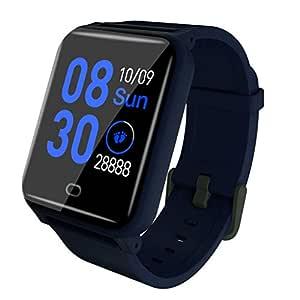 CAOQAO Smart Watch Android iOS Deportes Fitness Calorías Pulsera ...