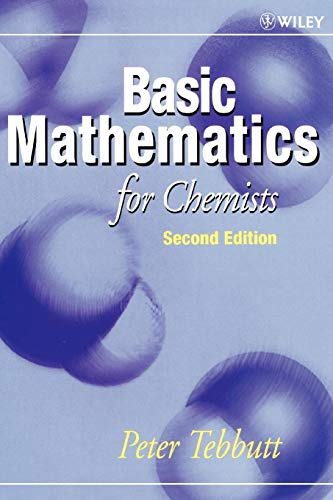 Basic Mathematics for Chemists, 2nd Edition