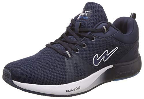 Campus Men's Camando Navy/Wht Running Sport Shoe-9 UK/India (43 EU) (5G-613-NAVY/WHT-9)