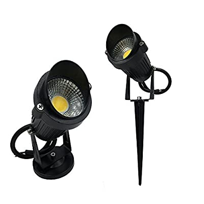 Warm White, 9W 24V Cap : Really 9W Outdoor Garden Light LED Lawn lamp Waterproof LED Flood Spot Light Warm Cool White with insert needle pin AC85-265V