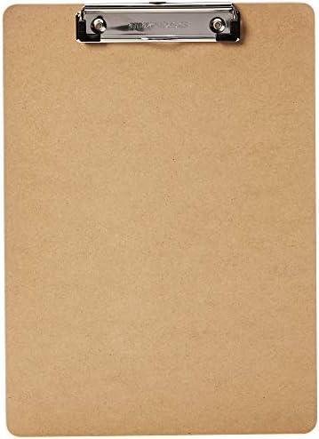 [Gesponsert]AmazonBasics - Hartplatten-Klemmbrett - 10er-Packung