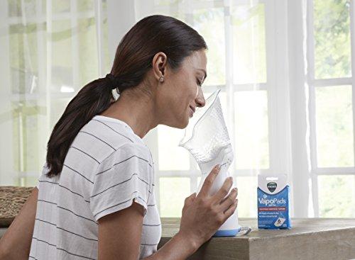 41fvcX6RdfL - Vicks Personal Sinus Steam Inhaler Face Steamer with Soft Face Mask