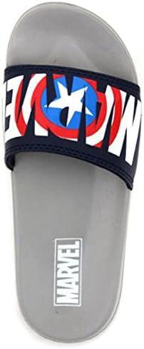 Avengers アイアンマン キャプテンアメリカ スパイダーマン スパイダーマン メンズ レディース 男女兼用 軽量 ビーチ サンダル ベランダサンダル スリッパ [並行輸入品]