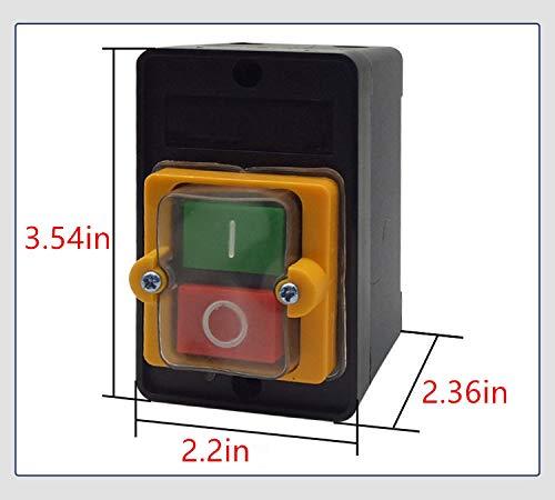 Sean bench drill switch Waterproof control button KA0-5M BSP210F-1B machine button switch