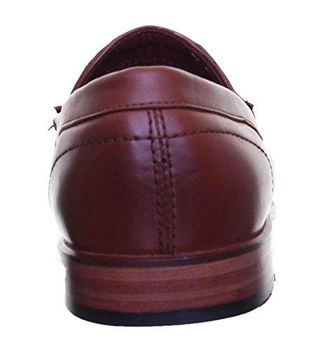 Homme Dorian Justin Mahogony Reece à Lacets Ville de Chaussures Pour vv8Uwq