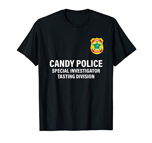 Candy Police Special Investigator Taste Division Shirt ()