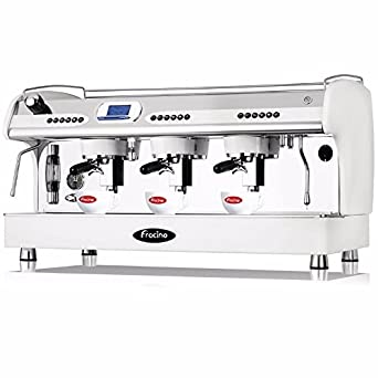 Fracino pid3 Espresso máquina de café, Grupo 3, color blanco: Amazon.es: Industria, empresas y ciencia