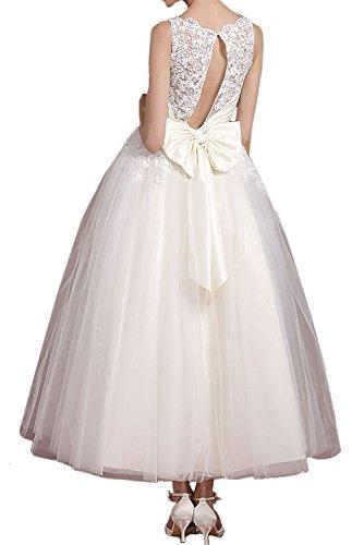 Ivydressing - Vestido - para mujer Weiß