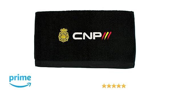 Toalla Policía Nacional CNP (70 x 140 cm, Negro)