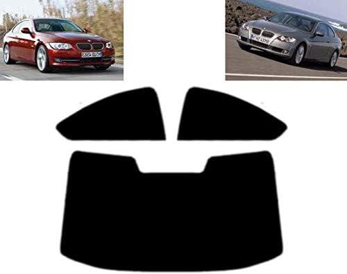 PSSC Pre Cut Sun Strip Car Window Films for BMW 3 Series 4 Door 2011 to 2016 05/% Very Dark Limo Tint