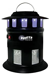 Garden Creations JB5452 Vortex Cordless Electronic Insect Trap, 1/2-Acre Coverage