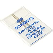 Schmetz Double Denim/Jeans Machine Needle Size 4.0/100 1ct