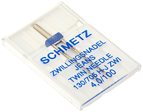 Schmetz Double Denim/Jeans Machine Needle Size 4.0/100 1ct