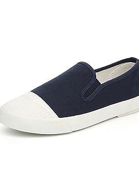 ZQ gyht Zapatos de mujer - Tacón Plano - Comfort / Estilos - Planos / Mocasines / Sin Cordones - Exterior / Casual - Tela ...