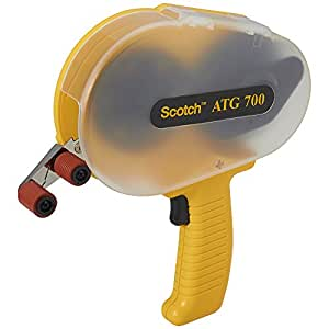 Scotch ATG 700 Adhesive Applicator, Dispenses 1/2 in and 3/4 in wide ATG rolls