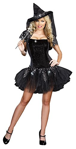 Starry Night Witch Costume - Small - Dress Size 2-6