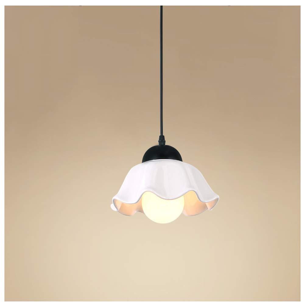 ペンダントライト セラミックペンダントライトシンプルなレストランシャンデリア現代天井照明用リビングルーム寝室装飾照明 B07TG13S2P