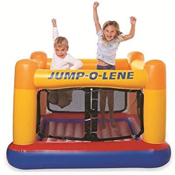 INTEX Castillo hinchable para niños «Jump-o-lene»: Amazon.es ...