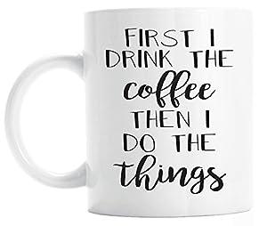 But First Coffee Mug Amazon