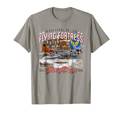(Aviation Tees: B-17 Flying Fortress Glory Days T-Shirt)
