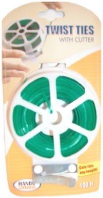 Bradshaw #70414 100'Twist Tie Dispenser (Pack of 3)