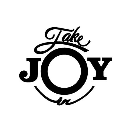 (Take Joy In Vinyl Decal Sticker (6