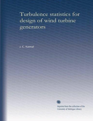 Turbines Design Wind - Turbulence statistics for design of wind turbine generators