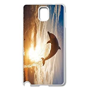 EZCASE Dolphin Phone Case For samsung galaxy note 3 N9000 [Pattern-1]