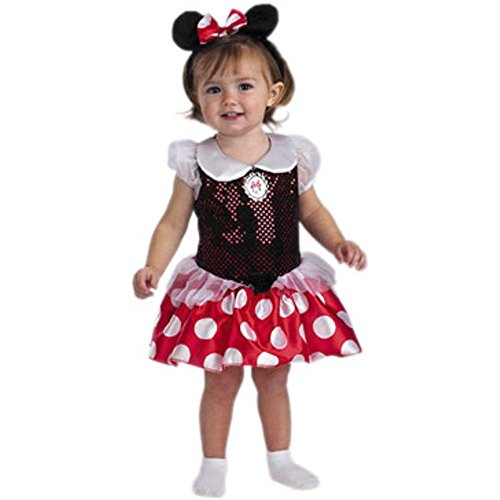 Minnie Mouse Infant Costume, Size: 12-18 months - Comfortable Toddler Halloween Costumes