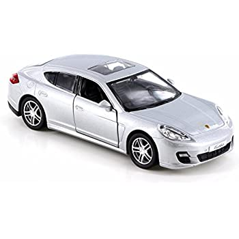 RMZ City Porsche Panamera Turbo, Silver 555002 - Diecast Model Toy Car but NO BOX