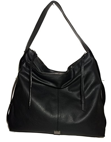 - KOOBA Large Black Stratford Hobo Handbag GK1354
