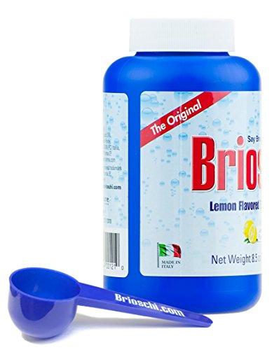Brioschi Italian Effervescent 8.5oz Bottle With Exclusive Custom Brioschi Serving Size Scoop