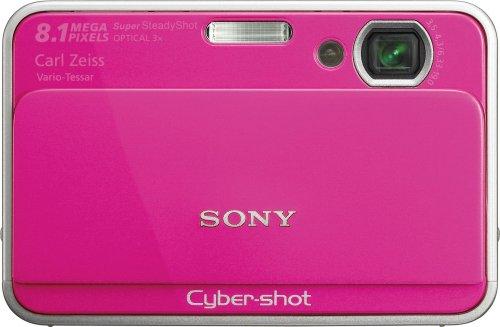 (Sony Cybershot DSC-T2 8MP Digital Camera with 3x Optical Zoom (Pink))