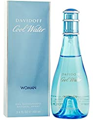 Cool Water By Zino Davidoff For Women. Deodorant Spray...